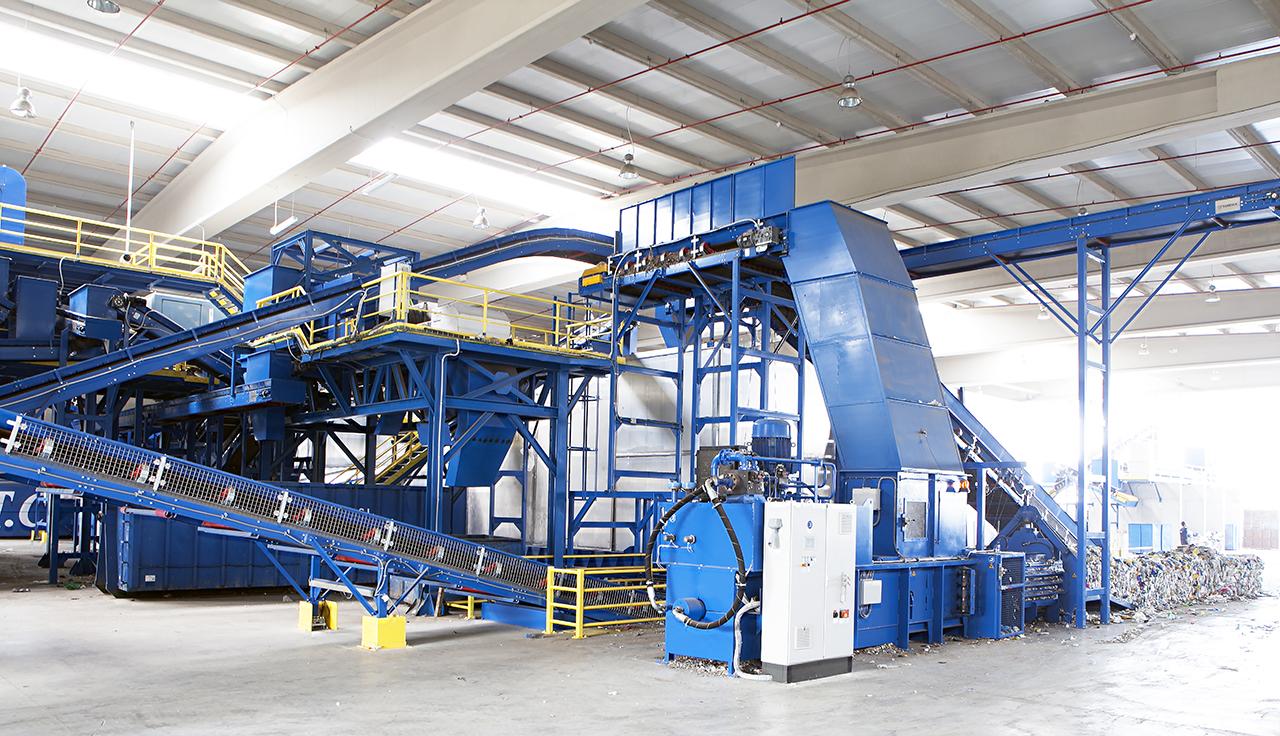 instalaciones procesado reciclaje granza plasticos