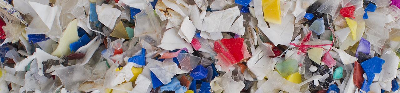 PP cacharrería, triturado y lavado